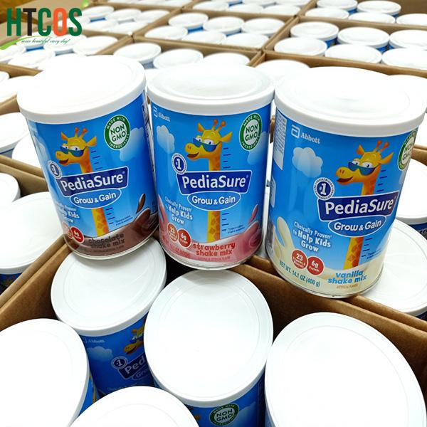 Sữa Bột Pediasure Grow&Gain Shake Mix Hộp 400gr Mỹ mua ở đâu
