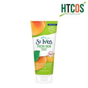 Sữa Rửa Mặt Tẩy Tế Bào Chết Chiết Xuất Mơ Cho Da Thường ST.Ives Fresh Skin Apricot Scrub 170gr Mỹ