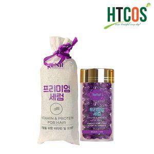 Tinh Dầu Dưỡng Tóc Genie Vitamin & Protein For Hair 60 Viên Hàn Quốc