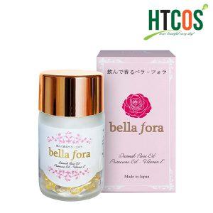 Viên Uống Tinh Chất Hoa Hồng Bella Fora 35 Viên Nhật Bản