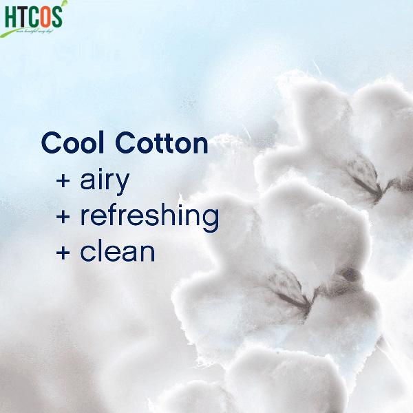 Viên Xả Vải Downy Cool Cotton Fraicheur Cotonniere Màu Xanh Da Trời 859gr Mỹ có tốt không
