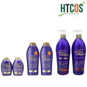 Bộ Dầu Gội Và Dầu Xả OGX Thick & Full Biotin & Collagen Mỹ