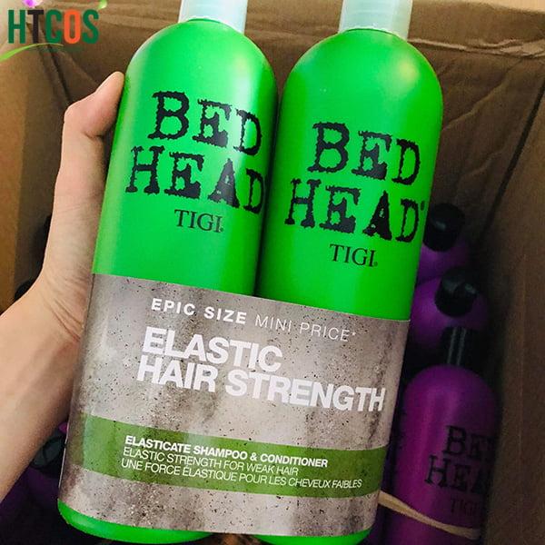 Bộ Gội Xả Tigi Bed Head Elastic Hair Strength 750ml Mỹ mua ở đâu