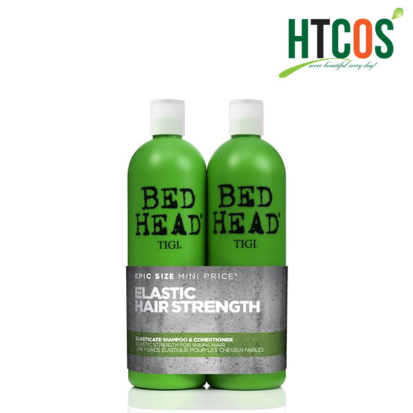 Bộ Gội Xả Tigi Bed Head Elastic Hair Strength 750ml Mỹ