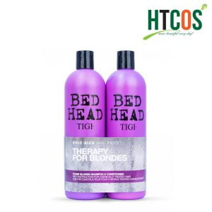 Bộ Gội Xả Tigi Bed Head Therapy For Blondes 750ml Mỹ