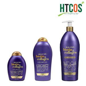 Dầu Gội OGX Thick & Full Biotin & Collagen Mỹ