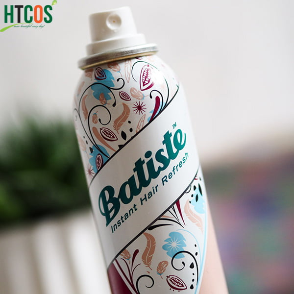 Dầu Gội Xả Khô Batiste 2in1 Invisible Dry Shampoo & Conditioner Cocoa & Cashmere 200ml UK bao nhiêu