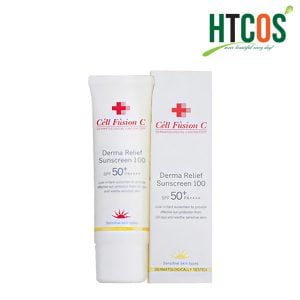 Kem Chống Nắng Cell Fusion C Derma Relief Sunscreen 100 SPF 50+ PA++++ 50ml Hàn Quốc