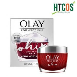 Kem Dưỡng Da Ban Ngày Olay Regenerist Whip Light As Air Finish Active Moisturizer 48gr Mỹ