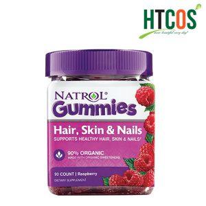 Kẹo Dẻo Đẹp Da Móng Tóc Natrol Gummies Hair Skin & Nails 90 Viên Mỹ