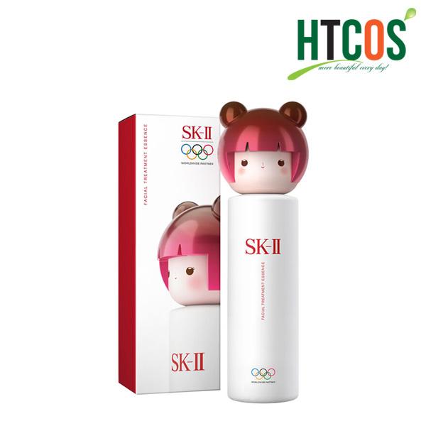 Nước Thần SK-II Facial Treatment Essence Limited Olympic Tokyo 2020 230ml Phiên Bản Búp Bê Kokeshi