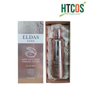Serum Eldas Aura Shine Gold Pearl Premium Peptide 100ml Hàn Quốc