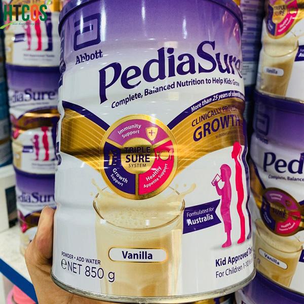 Sữa Bột Cho Trẻ Từ 1-10 Tuổi Pediasure 850gr Australia mua đâu