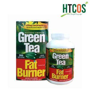 Viên Uống Giảm Cân Chiết Xuất Trà Xanh Green Tea Fat Burner 200 Viên Mỹ