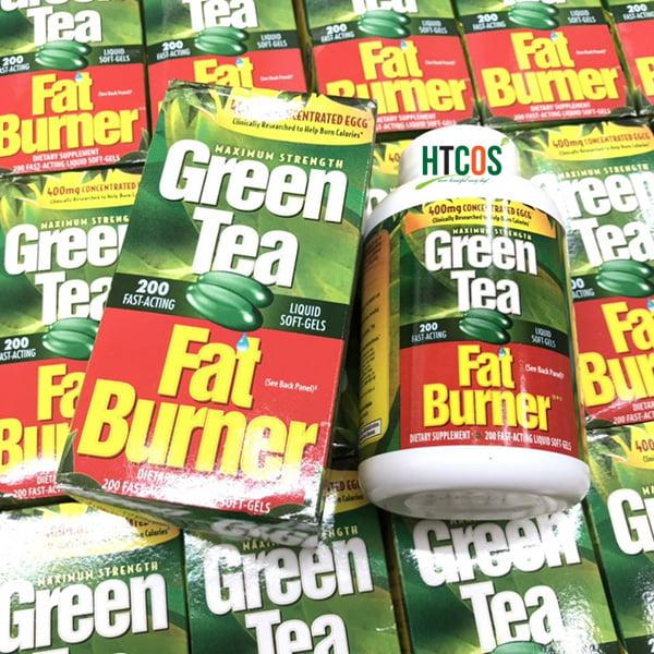 Viên Uống Giảm Cân Chiết Xuất Trà Xanh Green Tea Fat Burner 200 Viên Mỹ tốt không