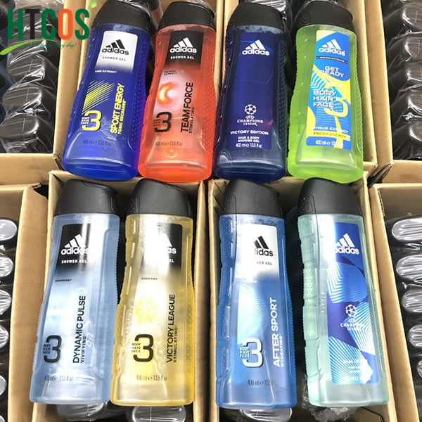 Gel Tắm Gội Nam ADIDAS 3in1 Body Hair Face Shower Gel 400ml mua ở đâu