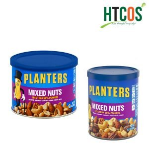 Hạt Hỗn Hợp Planters Mixed Nuts Less Than 50% Peanuts Mỹ