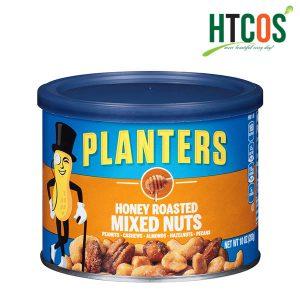 Hạt Hỗn Hợp Tẩm Mật Ong Planters Honey Roasted Mixed Nuts 283gr Mỹ