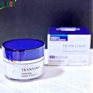 Kem Tái Tạo Và Trị Nám Ban Đêm Transino Whitening Repair Cream EX 35gr Nhật Bản giá bao nhiêu