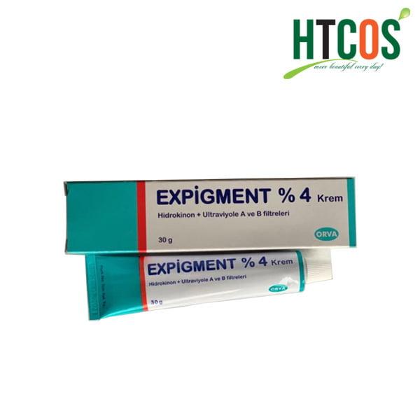 Kem Trị Nám Theo Vùng Expigment %4 Krem Hidrokinon + Ultraviyole A Ve B Filtreleri 30gr Thổ Nhĩ Kỳ
