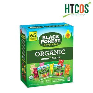 Kẹo Dẻo Gấu Black Forest Organic Gummy Bears Hộp 65 Gói Mỹ