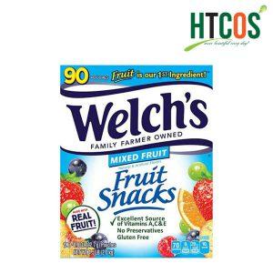 Kẹo Dẻo Trái Cây Welch's Fruit Snacks Hộp 90 Gói Mỹ