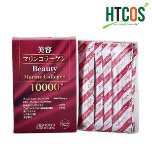 Nước Uống Đẹp Da Beauty Marine Collagen 10000mg Hộp 15 Gói Nhật Bản