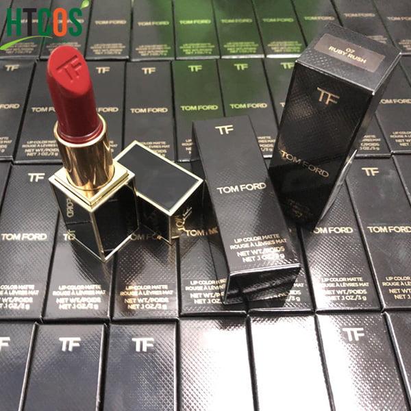 Son Tom Ford Lip Color Matte 07 Ruby Rush 3gr giá bao nhiêu