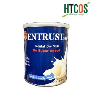 Sữa Bột Không Đường Dành Cho Người Tiểu Đường Entrust Nonfat Dry Milk 400gr Mỹ
