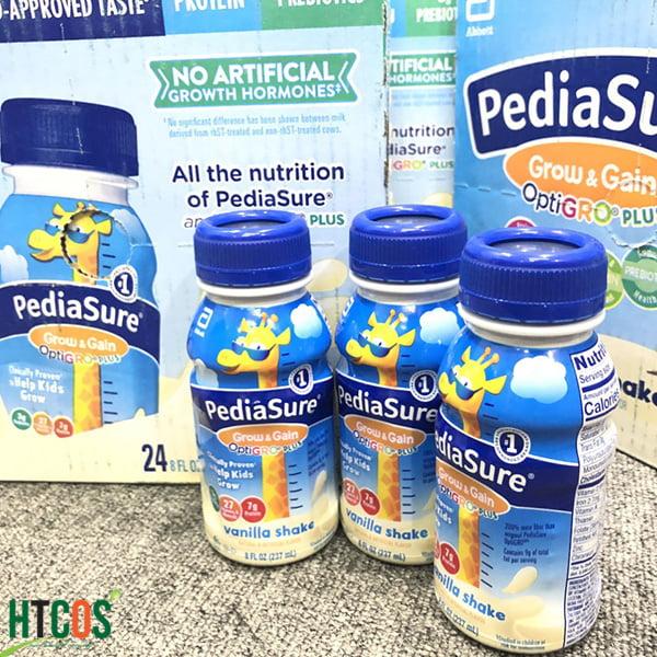 Sữa Nước PediaSure Grow & Gain OptiGRO Plus Vanilla Shake 237ml Mỹ giá bao nhiêu