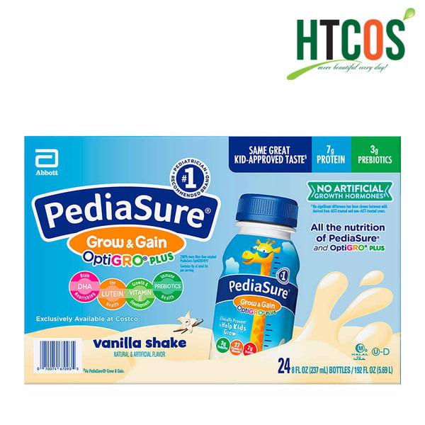 Sữa Nước PediaSure Grow & Gain OptiGRO Plus Vanilla Shake 237ml Mỹ