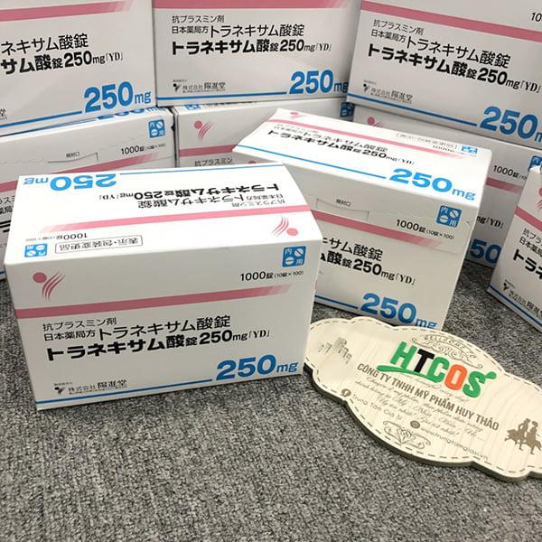 Viên Uống Trắng Da Trị Nám Transamin 250mg 1000 Viên Nhật Bản mua ở đâu