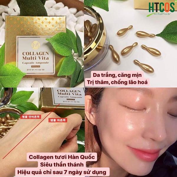 Collagen Tươi Đẹp Da JM Multi Vita Ampoule 38 Viên Hàn Quốc sử dụng như thế nào