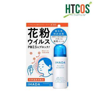 Chai Xịt Kháng Khuẩn Shiseido Ihada Aller Screen PM2.5 50gr Nhật Bản