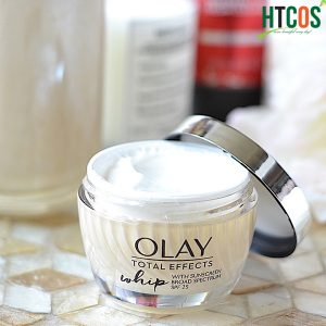 Kem Dưỡng Da Chống Nắng Olay Total Effects Whip Active Moisturizer With Sunscreen Broad Spectrum SPF 25 48gr Mỹ tốt không