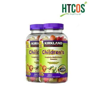 Kẹo Dẻo Bổ Sung Vitamin Cho Bé Kirkland Signature Children's Complete Multivitamin 160 Viên Mỹ