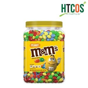 Kẹo Sôcôla Nhân Đậu Phộng M&M's Peanut Chocolate Candies 1757.7gr Mỹ