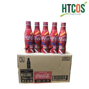 Nước Ngọt Có Gas Coca Cola Phiên Bản Olympics Tokyo 2020 Thùng 30 Chai Nhật Bản