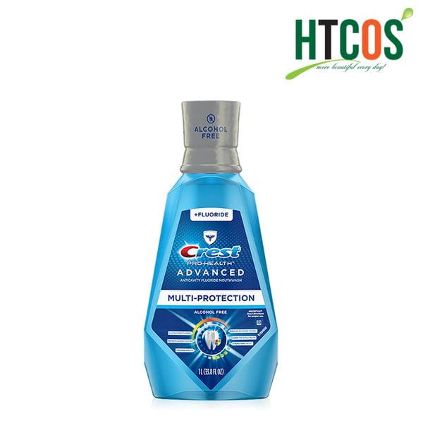 Nước Súc Miệng Crest Pro Health Advanced Multi-Protection 1L Mỹ