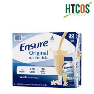 Sữa Ensure Nước Orginial Nutrition Shake 237ml Thùng 30 Chai