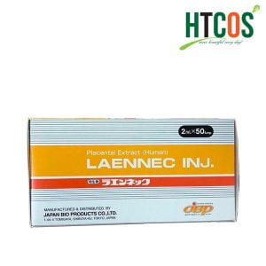 Tế Bào Gốc Nhau Thai Người LAENNEC INJ. Placental Extract (Human) 50 Ống Nhật Bản