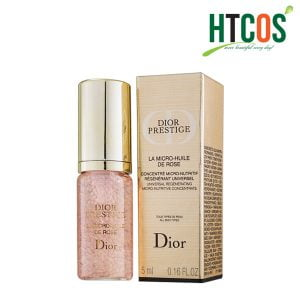 Tinh Chất Hoa Hồng Dior Prestige La Micro Huile De Rose 5ml Pháp