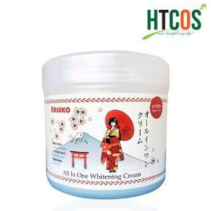 Ủ Trắng Da Toàn Thân Hasuko All In One Whitening Cream SPF50+ PA++++ 280gr Nhật Bản