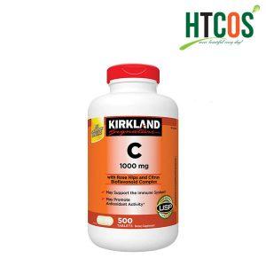 Viên Uống Bổ Sung Vitamin C Kirkland Signature 1000mg 500 Viên Mỹ