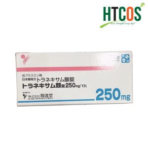 Viên Uống Trắng Da Trị Nám Transamin 250mg 100 Viên Nhật Bản Hộp Màu Trắng