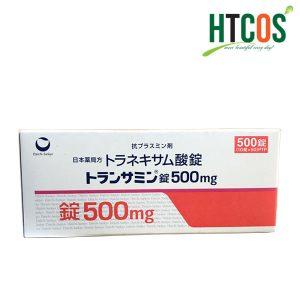 Viên Uống Trắng Da Trị Nám Transamin 500mg 500 Viên Nhật Bản Hộp Màu Đỏ