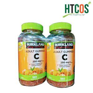 Kẹo Dẻo Bổ Sung Vitamin C Kirkland Signature Adult Gummies C 250mg Mỹ