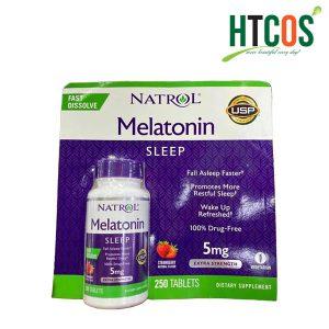 Viên Ngậm Ngủ Ngon Natrol Melatonin Sleep 5mg 250 Viên Mỹ
