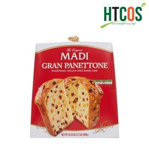 Bánh Mì Truyền Thống Madi Gran Panettone 1kg Italia
