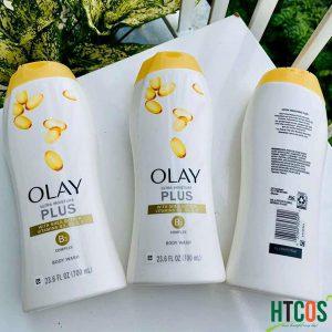 Bộ 3 Chai Sữa Tắm Olay Ultra Moisture Plus With B3 Complex 700ml Mỹ thơm lâu không